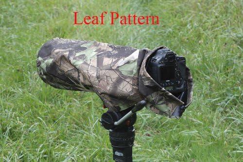 Regenschutz Für Kameras Und Linsen Blattmuster Größe Kamera