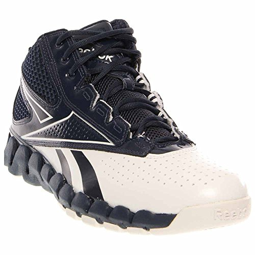 Zig Pro Future Womens Basketball Shoe (A10, White/Royal) Reebok