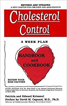 Cholesterol Control 3-Week Plan Handbook and Cookbook
