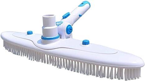 Pool Reinigungsbürste Praktischem Griff Rundbürste F Poolreinigung Poolbürste