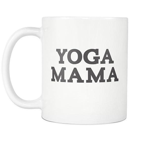 Amazon.com: Yoga Mama Mug: Kitchen & Dining