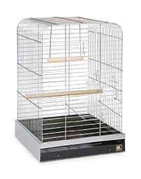 Prevue Pet Products 125C Parrot Cage, Chrome