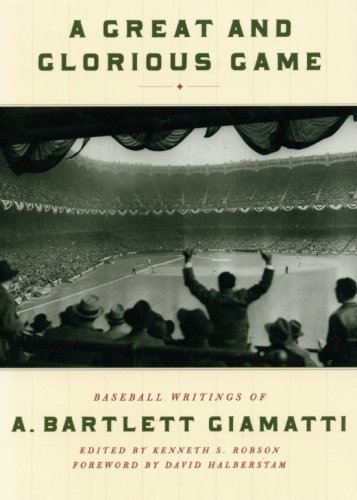 Game: Baseball Writings of A. Bartlett Giamatti ()