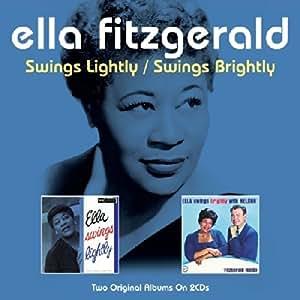 Ella Fitzgerald Fitzgerald Ella Swings Lightly Swings