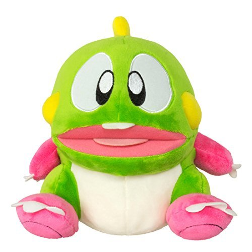 Bubble Bobble - 8 Bub Plush with Sound [並行輸入品] B078CYVS92