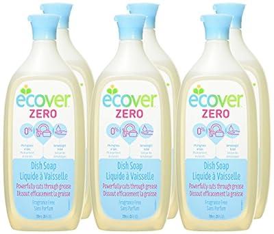 Ecover Liquid Dish Soap, 6 Count