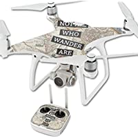 Skin For DJI Phantom 4 Quadcopter Drone – Who Wander   MightySkins Protective, Durable, and Unique Vinyl Decal wrap cover   Easy To Apply, Remove, and Change Styles   Made in the USA