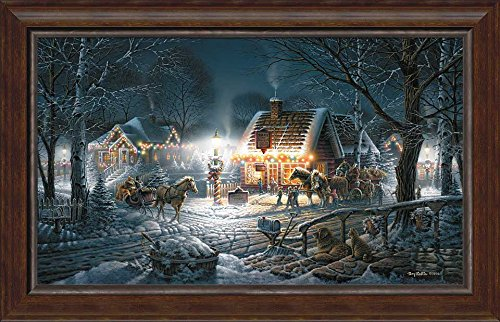 """Terry Redlin Winter Haven HD Print Art Home Decor Oil Painting on Canvas 18x24/"""""""