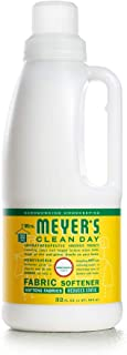 product image for Mrs. Meyer's Clean Day Liquid Fabric Softener Bottle, Honeysuckle Scent, 32 Fluid Ounce