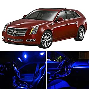 Scitoo 9pcs blue package kit accessories - Cadillac cts interior accessories ...