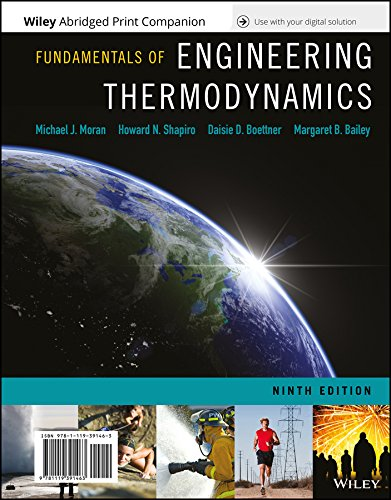 Fundamentals of Engineering Thermodynamics, 9th Edition Loose-Leaf Print Companion with WileyPLUS Card Set