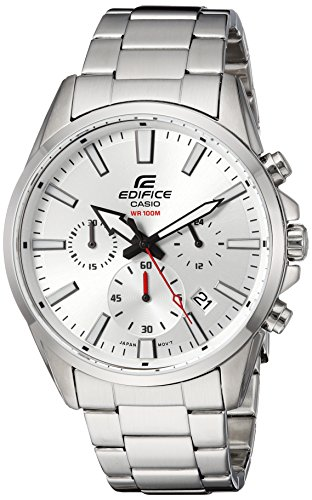 Casio Men's 'Edifice' Quartz Stainless Steel Casual Watch, C
