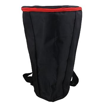 Schwarz Afrikanische Trommel Tasche Djembe Tragetasche Rucksack Wasserdichte