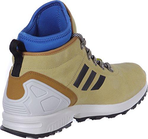 adidas ZX Flux Winter - Zapatillas de running para hombre Beige / Negro / Azul / Blanco