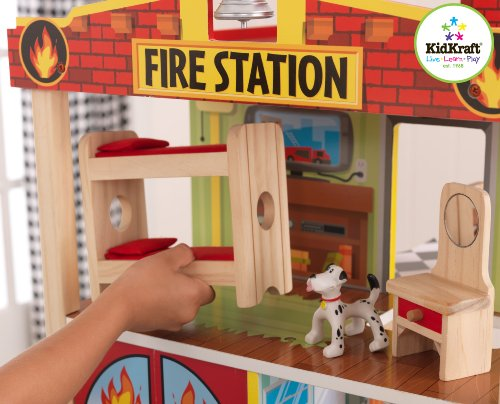 Kidkraft Fire Station Set Buy Online In Uae Toys And Games