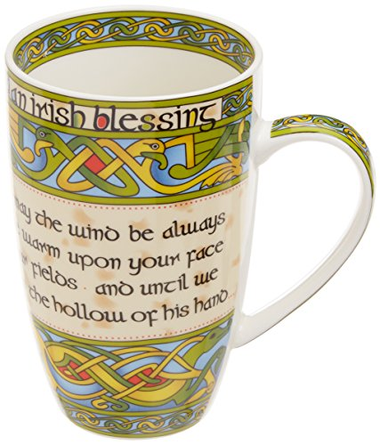 Irish China (Irish Blessing bone china mug -