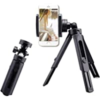 Fancer Tripod for iPhone and Android, Camera & Stabilizer Stand Holder, 360°Rotation Mini Tripod Phone Stand for…