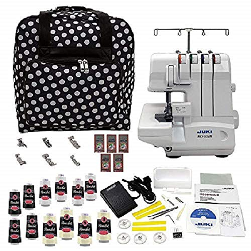 Juki MO-50en Serger with Big Bonus Bundle