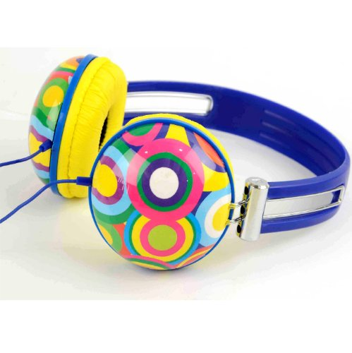 iWorld Headphones - Compatible with Apple IPod/IPhone and MP3 Player (One Size, Retro Sound)