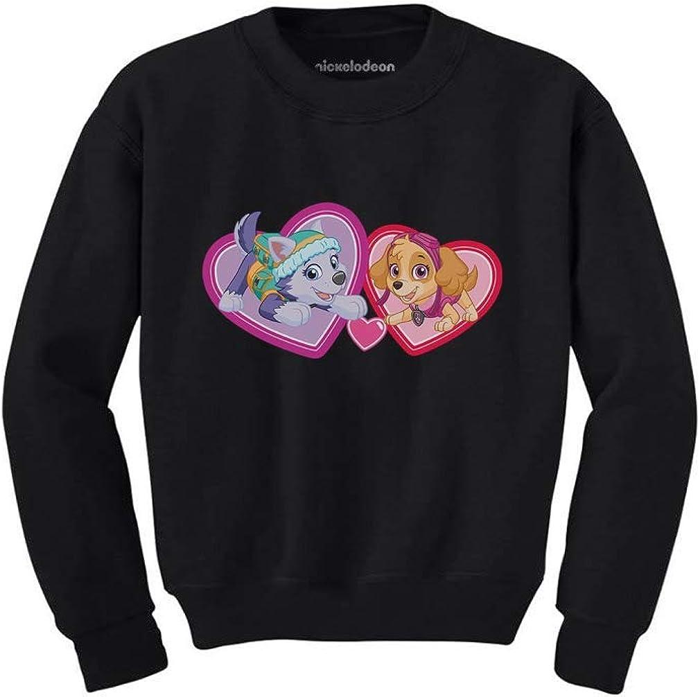 Paw Patrol BFF Love Everest /& Skye Toddler//Kids Sweatshirt