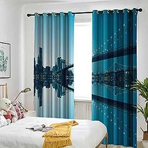 Amazon Com Apartment Decor Curtains For Living Room New