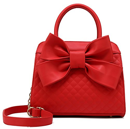 Large Leather Patent Hobo (Scarleton Ultra Soft Tote Handbags Shoulder Bags Hobo Bags Satchel Purses Top Handle Bag Crossbody Bags for Women H104810N - Red)