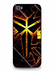 Iphone 5C Case, Hard Plastic Iphone 5C Phone Case, Comic Kobe Bryant logo Collection Phone Accessories