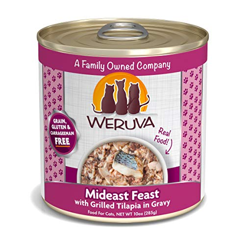 Weruva Classic Cat Food, Mideast Feast With Grilled Tilapia