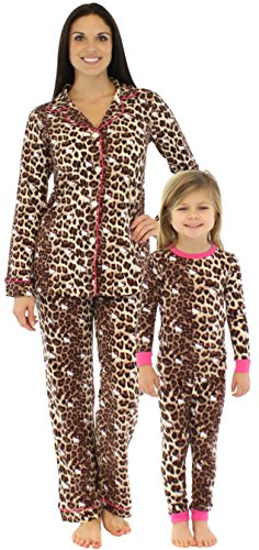 Bedhead Mommy & Me Matching Hello Kitty Leopard Pajamas - (Mommy And Me Matching Pajamas)