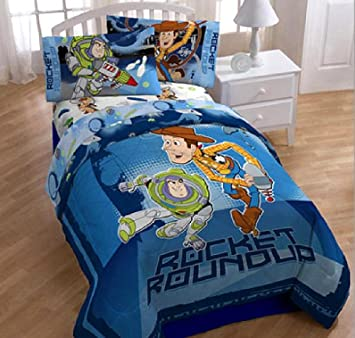 Toy Story 3 Ensemble De Literie Lit Simple 4 En 1 Set Couette