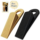 Premium Door stopper by ByToBa - 2 Pack Heavy Duty Rubber Universal & Usefull Rubber Doorstop for All Surfaces