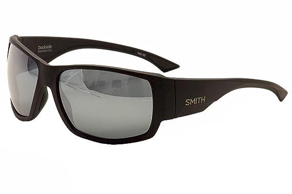 4faff26c9d8 Smith DOCKSIDE S Sunglasses 0DL5 Matte Black 56-17-125  Amazon.co.uk ...