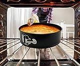 Zulay Premium 9 Inch Cheesecake Pan