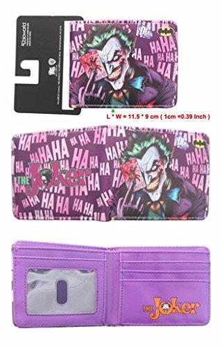 DC Comics Joker HAHAHA (Batman) Bifold Men's Boys