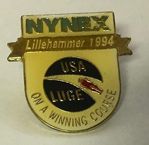 1994 Lillehammer USA Luge Nynex Olympic Pin