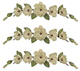 Three 34'' Magnolia Swags Artificial Wedding Arrangement