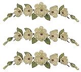 Three 34'' Magnolia Swags Artificial Wedding Arrangement