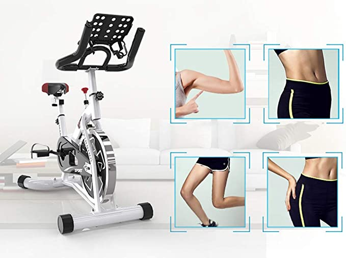 C-J-Xin Mute Exercise Bike, Spinning Bike Household Pedal Interior ...