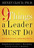 Bargain eBook - 9 Things a Leader Must Do