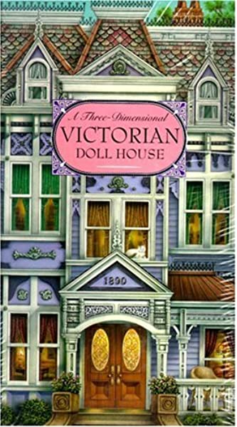 Lot of 3 handmade 1:12 scale miniature dollhouse victorian childrens books #6
