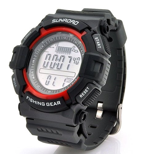 High-quality Digital Waterproof Fishing Barometer Watch (Altimeter Thermometer Weather Forecast Time) by TAK