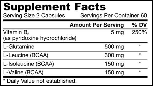 Jarrow Formulas, BCAA, Branched Chain Amino Acid Complex, 120 Capsules Pack of 2