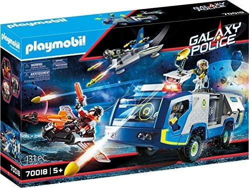 PLAYMOBIL- Policía Galáctica Camión Juguete, Multicolor (70018): Amazon.es: Juguetes y juegos