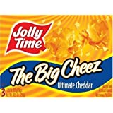 Jolly Time the Big Cheez Cheddar Cheese Microwave Popcorn, 3-count Boxes (Pack of 3) by Jolly Time