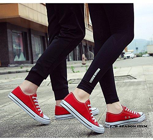 Sports Sneaker Lacets Femme Mode Semelle Chaussures Basse Caoutchouc Adulte Baskets qxwqnvrPpS