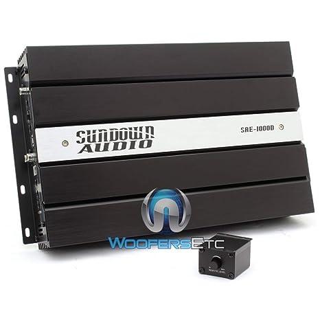 SAE-1000D - Sundown Audio Monoblock 1000W RMS Digital Class D Amplifier