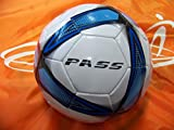 50 CT - Size 5, 32 Panel Machine Sewn Soccer Balls. Official Sizes & Weight. COMES WITH FREE 6'' PUMP! (Blue)