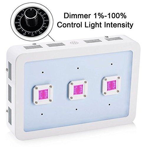 Led Grow Light Full Spectrum Dimmable 900W Greenhouse Plants Fruits and Vegetables
