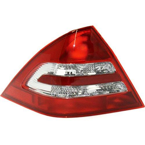 Tail Light for Mercedes Benz C-Class 01-04 Lens and Housing Sedan (203) Chassis Left Side ()