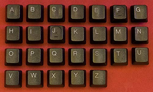 Home Comforts Peel-n-Stick Poster of Symbol ABC Key Keyboard Letter Button Alphabet Vivid Imagery Poster 24 x 16 Adhesive Sticker Poster Print